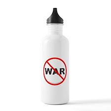 Stop War Water Bottle