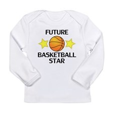 Future Basketball Star Long Sleeve T-Shirt
