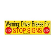 Funny Safety Car Magnet 10 x 3