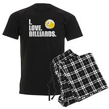 I Love Billiards Pajamas