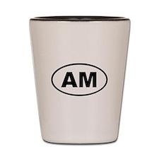 Armenia AM Shot Glass