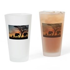 Unique Savannah Drinking Glass