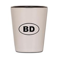 Bangladesh BD Shot Glass