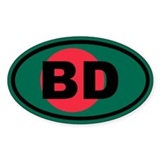 Bangladesh flag BD Decal