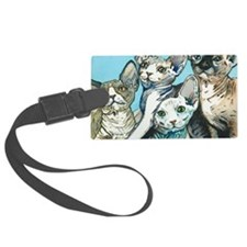 Sphynx Kittens Luggage Tag