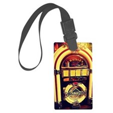 1947 Crosley Jukebox Large Luggage Tag