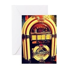 1947 Crosley Jukebox Greeting Card