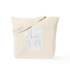 Stylised Saddlebred Tote Bag