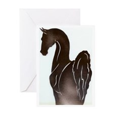Saddlebred Pose Greeting Card