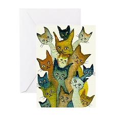 Kalamazoo Stray Cats Greeting Card