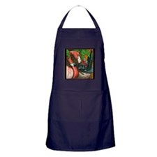 Flamingo Wine Apron (dark)