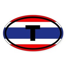 Thailand flag T Decal