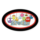 SPeCks Oval Decal