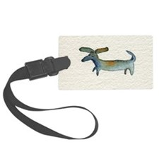 dachse dachshund Large Luggage Tag