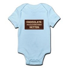 Chocolate Makes Everything Better Body Suit