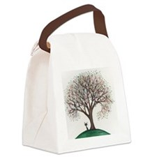Singapore Stray Cat Canvas Lunch Bag