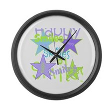 OYOOS Happy Smiles design Large Wall Clock