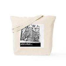 Saddlebred lets ride -black Tote Bag