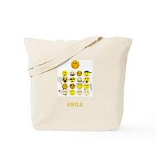 Smileys Tote Bag