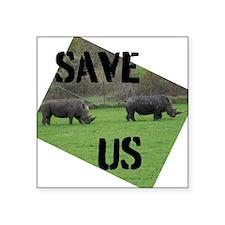 Save the Rhinos Sticker