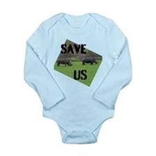 Save the Rhinos Body Suit