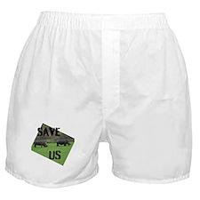 Save the Rhinos Boxer Shorts