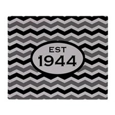 Est. 1944 Chevron Throw Blanket
