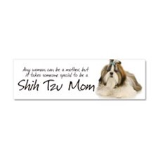 Shih Tzu Mom Car Magnet 10 x 3