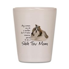 Shih Tzu Mom Shot Glass
