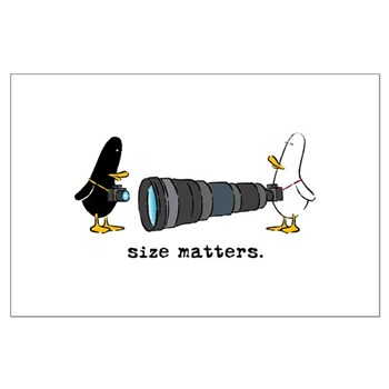 WTD: Size Matters Large Poster