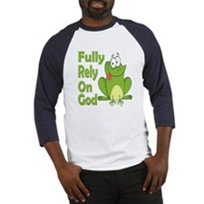 Fully Rely On God Baseball Jersey
