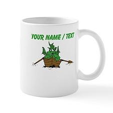 Custom Dragon On Boat Mugs