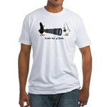 WTD: Kiss My Glass Fitted T-Shirt