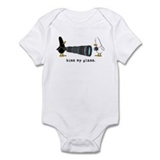 WTD: Kiss My Glass Infant Bodysuit