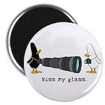 WTD: Kiss My Glass Magnet