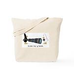 WTD: Kiss My Glass Tote Bag