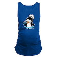 Cooking Penguin (B) Maternity Tank Top