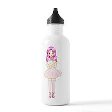 Anime Girl Water Bottle