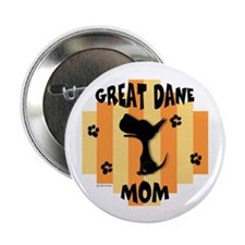 """Great Dane Mom 2.25"""" Button (10 pack)"""