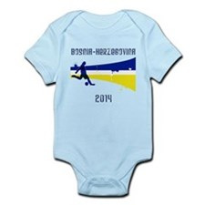 Bosnia-Herzegovina World Cup 2014 Infant Bodysuit