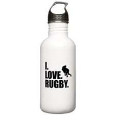 I Love Rugby Water Bottle