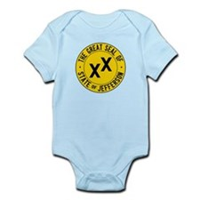 State of Jefferson Flag Infant Bodysuit