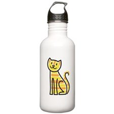 Tabby Cat Water Bottle