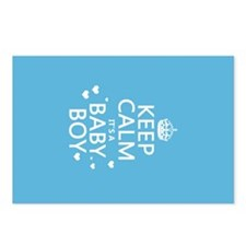 Keep Calm It's A Baby Boy Postcards (Package of 8)