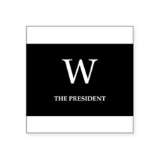 GEORGE W. BUSH Oval Sticker