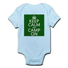Keep Calm and Camp On Body Suit