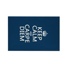 Keep Calm and Carpe Diem Magnets