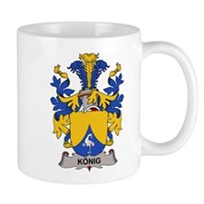 Konig Family Crest Mugs
