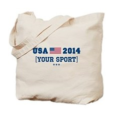 USA 2014 [Your Sport] Tote Bag