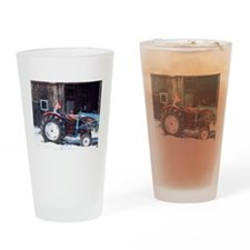 Hired Hand Rooster Drinking Glass